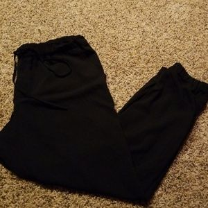Elastic waist and ankle pants